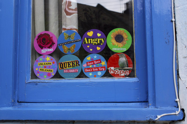 Range of badges in window