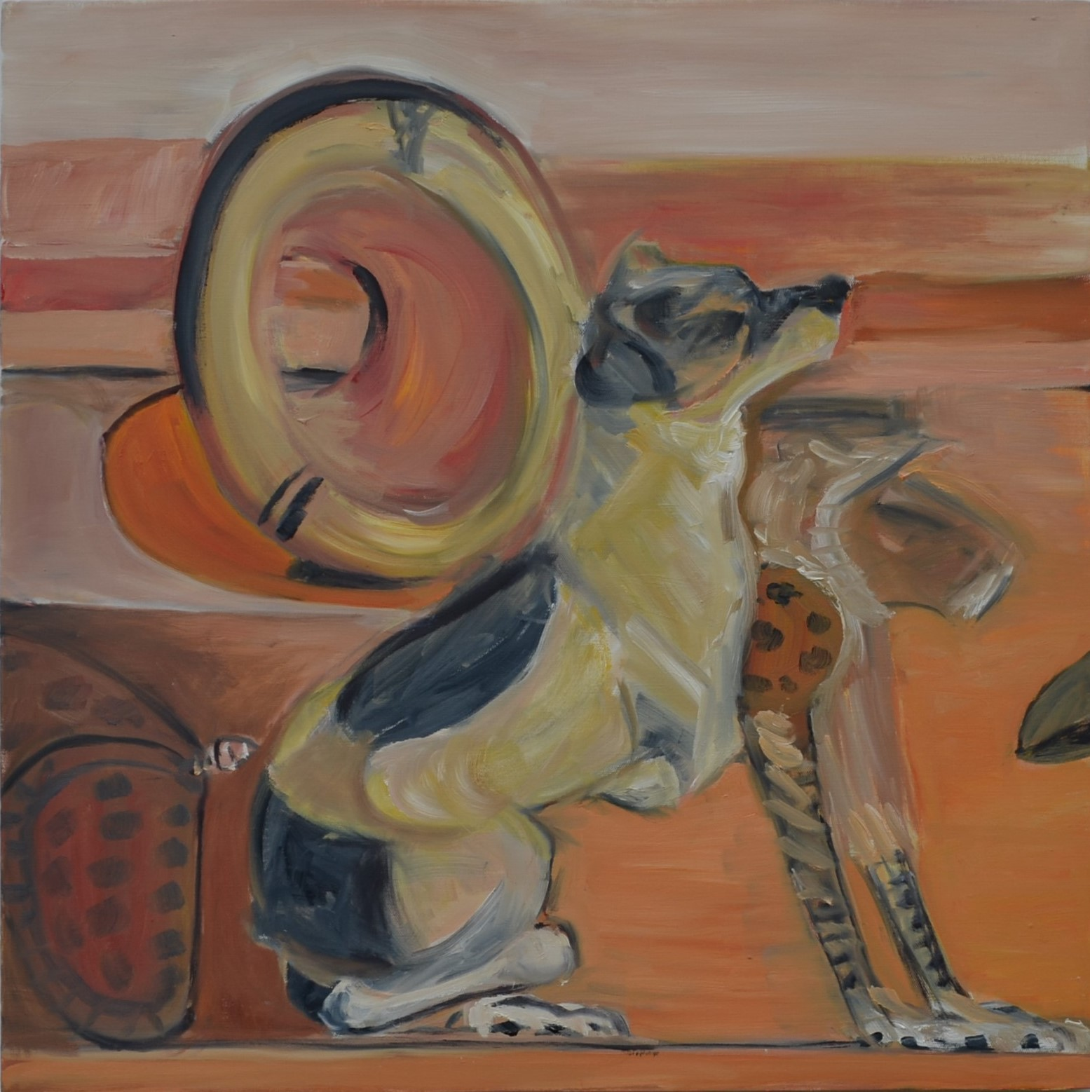 Painting of Dog and Cat