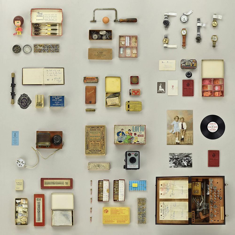 a collection of objects