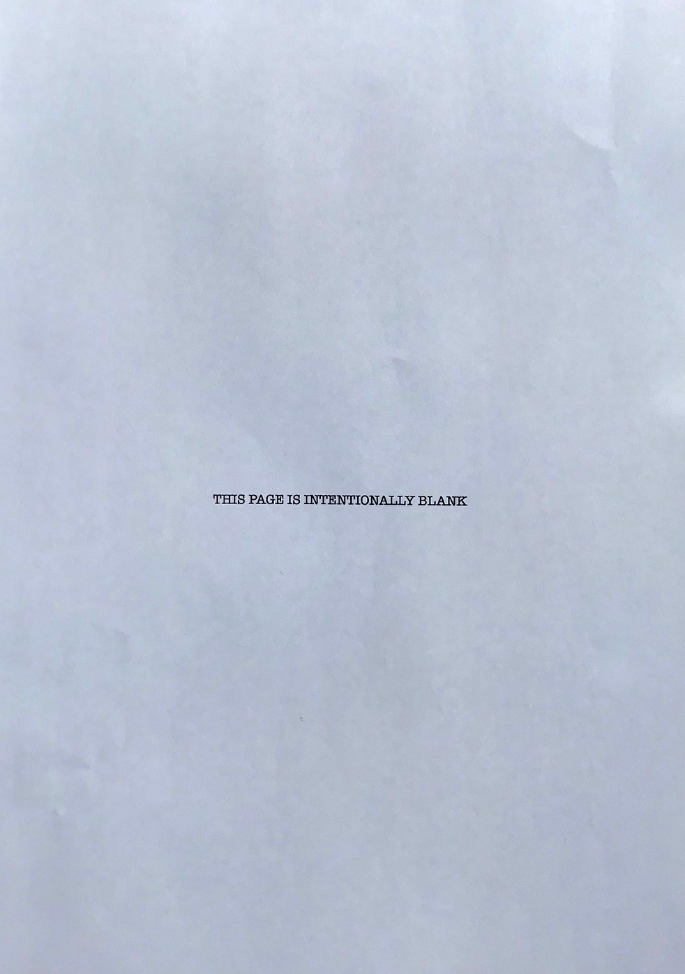 Intentionally Blank Page