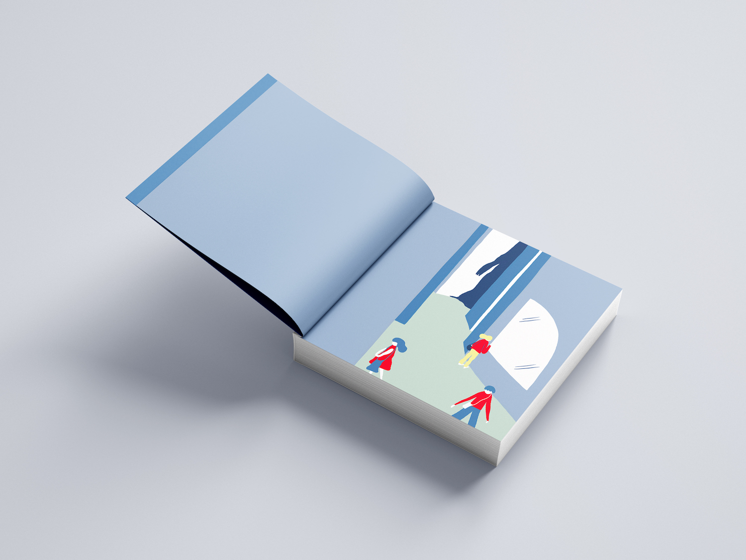 Monster book mockup