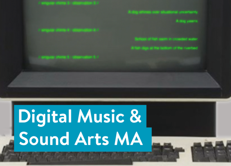 Digital Music & Sound Arts MA