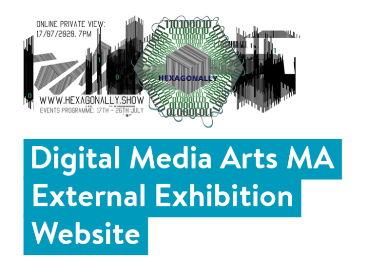 Digital Media Arts MA External Exhibition Website